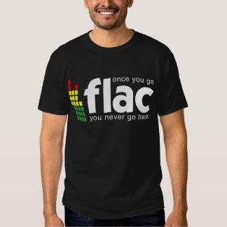 Una vez que usted va FLAC Camisas