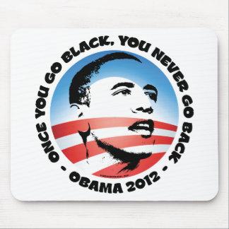 Una vez que usted va negro, usted nunca vuelve tapetes de ratón