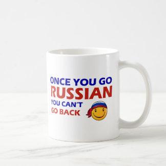 Una vez que usted va ruso taza