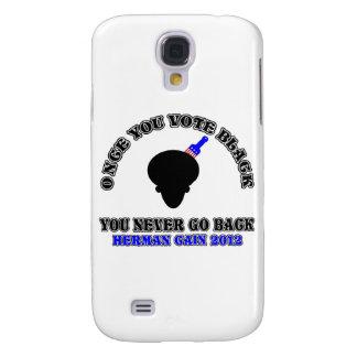 Una vez que usted vota Negro-usted nunca vuelve Funda Para Galaxy S4
