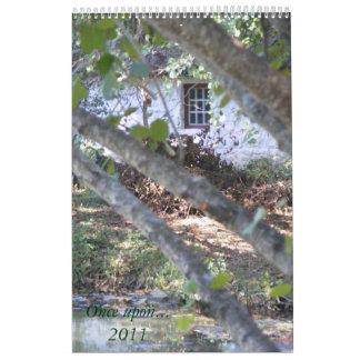 Una vez sobre… 2011 calendario