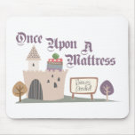 Una vez sobre un colchón - Mousepad Tapetes De Ratones