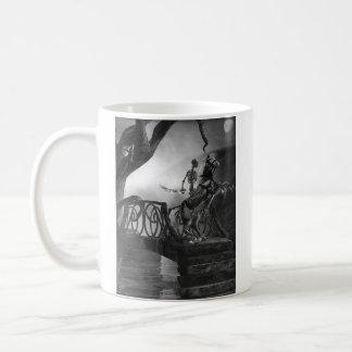 Una vez sobre una pesadilla taza de café