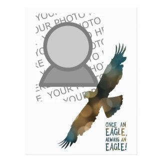 una vez un águila siempre una foto del águila postal