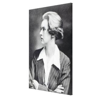 Una Vicente, señora Troubridge, c.1915 Lienzo Envuelto Para Galerías