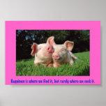 Una vida de los cerdos poster