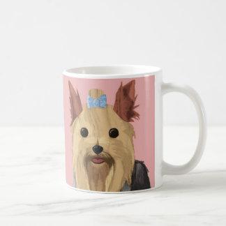 Una vida de los perros - Yorkie (de pelo largo) Taza Clásica