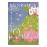Una vida del cuento de hadas - etiquetas colgantes tarjetas de negocios