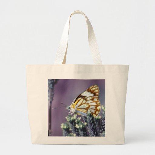 Una vida hermosa de las mariposas bolsas lienzo