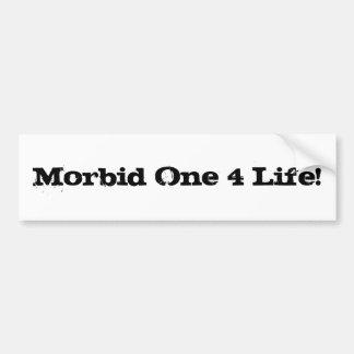 ¡Una vida mórbida 4! Pegatina Para Auto