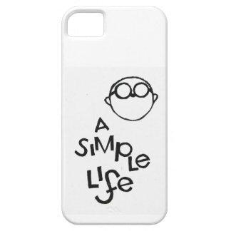 Una vida simple funda para iPhone SE/5/5s