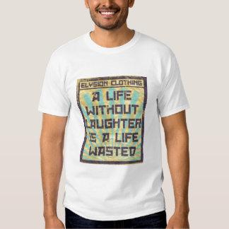 Una vida sin risa polera