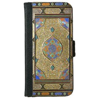 Una vieja cubierta de libro decorativa colorida carcasa de iPhone 6