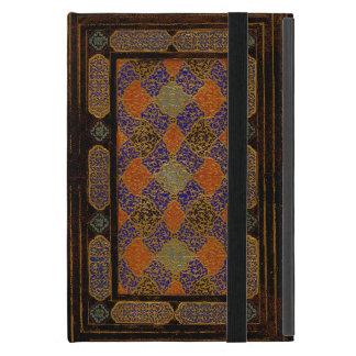 Una vieja cubierta de libro decorativa iPad mini carcasa