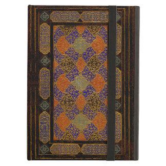 Una vieja cubierta de libro decorativa