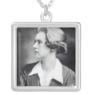 Una Vincenzo, Lady Troubridge, c.1915 Silver Plated Necklace
