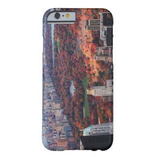 Una visión desde arriba: Otoño en el Central Park Funda De iPhone 6 Barely There