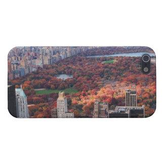 Una visión desde arriba: Otoño en el Central Park iPhone 5 Cárcasa