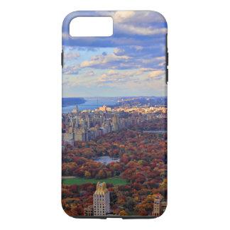 Una visión desde arriba: Otoño en el Central Park Funda iPhone 7 Plus