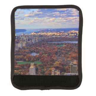 Una visión desde arriba: Otoño en el Central Park Funda Para Asa De Maleta