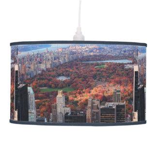 Una visión desde arriba: Otoño en el Central Park Lámpara De Techo