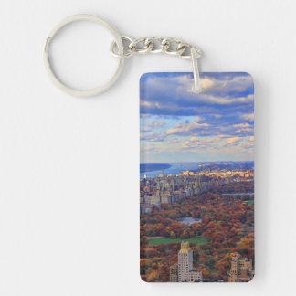 Una visión desde arriba: Otoño en el Central Park Llavero