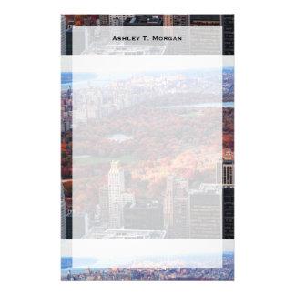 Una visión desde arriba: Otoño en el Central Park Papeleria