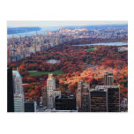 Una visión desde arriba: Otoño en el Central Park Postales