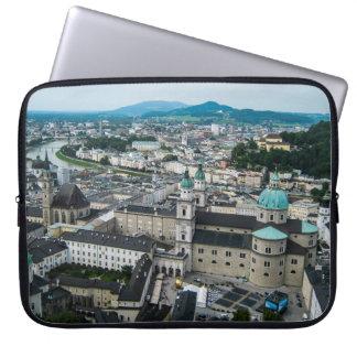 Una visión desde la fortaleza de Hohnensalzburg, Manga Computadora