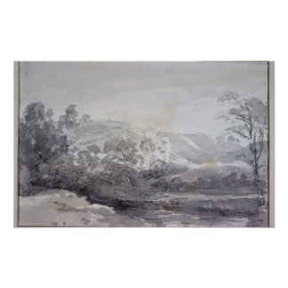 Una visión en Derbyshire Póster