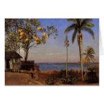Una visión en las Bahamas - el Albert Bierstadt Tarjeta