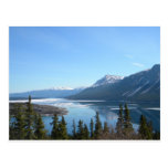Una visión escénica en Skagway, Alaska Postal