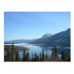 Una visión escénica en Skagway, Alaska Tarjeta Postal