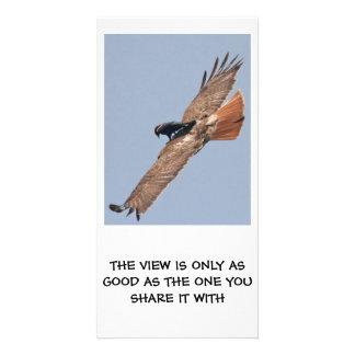 Una visión filosófica tarjetas fotográficas personalizadas