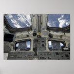 Una visión por dentro de la cubierta de vuelo impresiones