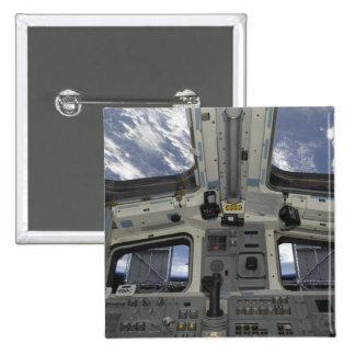 Una visión por dentro de la cubierta de vuelo pin cuadrado