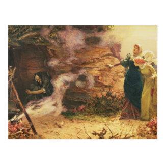 Una visita a la bruja tarjetas postales