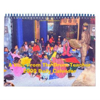 Una visita del calendario diario del profesor 2009