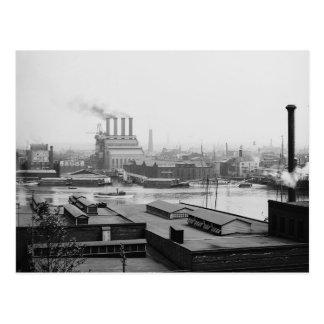 Una vista de Baltimore a partir de últimos años Postal