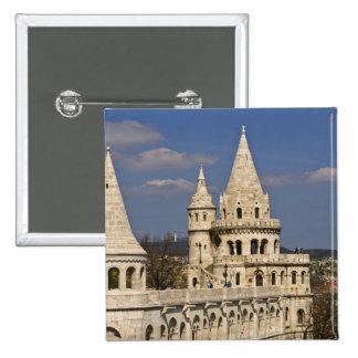 Una vista de Budapest de la colina del castillo Pin Cuadrado