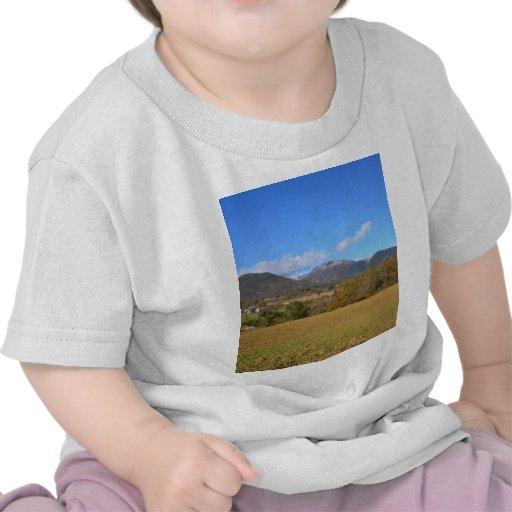 Una vista de Calabria Camisetas