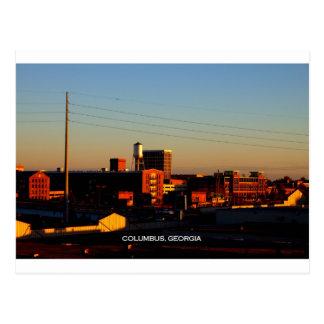 Una vista de Columbus, GA tomado de la ciudad de P Postal