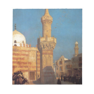 Una vista de El Cairo por Jean-León Gerome Blocs De Notas