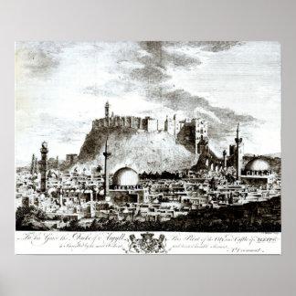 Una vista de la ciudad y del castillo de Alepo, Si Impresiones