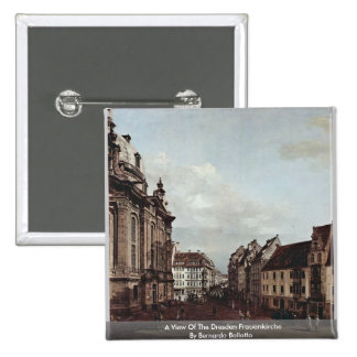 Una vista de la Dresden Frauenkirche Pins