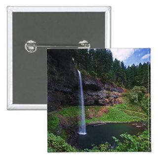 Una vista de las caídas del sur en plata baja parq pin cuadrado