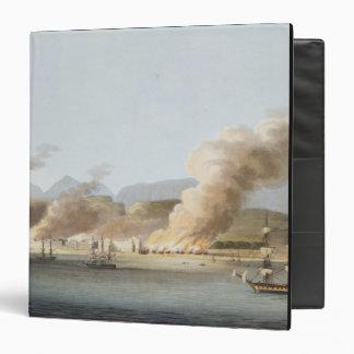 Una vista de Linga o del pulmón, del mar, el 16 de