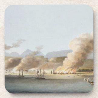 Una vista de Linga o del pulmón, del mar, el 16 de Posavasos De Bebida