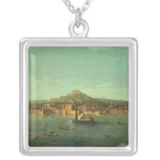 Una vista de Nápoles, siglo XVII Collares