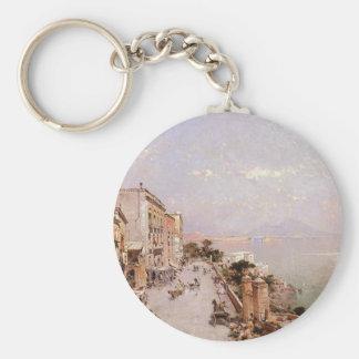 Una vista de Posilippo, Nápoles de Francisco Llavero Redondo Tipo Pin